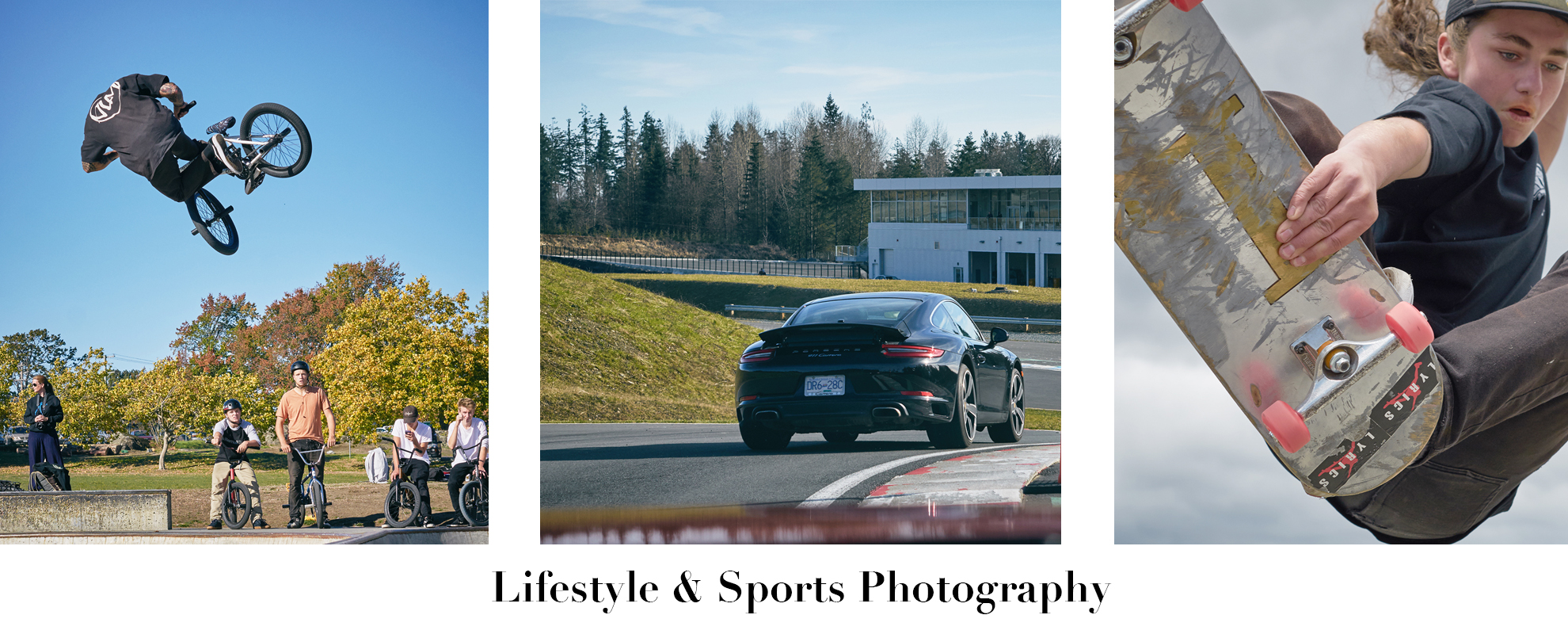 Lifestyle & Sports Photography